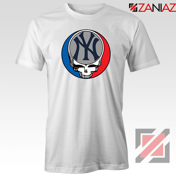 NY Yankees Grateful Dead Tshirt