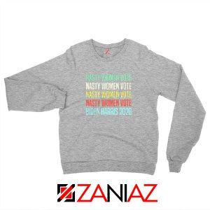 Nasty Women Vote Sport Grey Sweatshirt