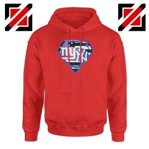 New York Yankees Superman Red Hoodie