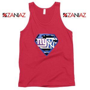 New York Yankees Superman Red Tank Top