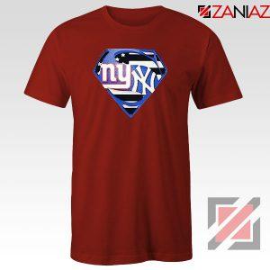 New York Yankees Superman Red Tshirt