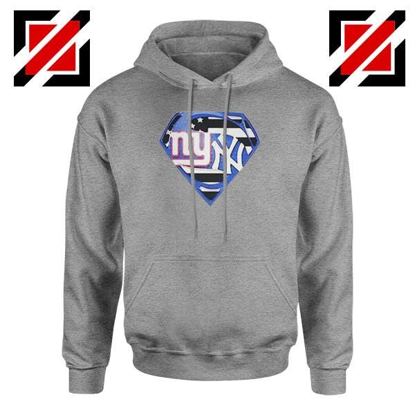 New York Yankees Superman Sport Grey Hoodie