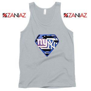 New York Yankees Superman Sport Grey Tank Top