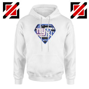 New York Yankees Superman White Hoodie