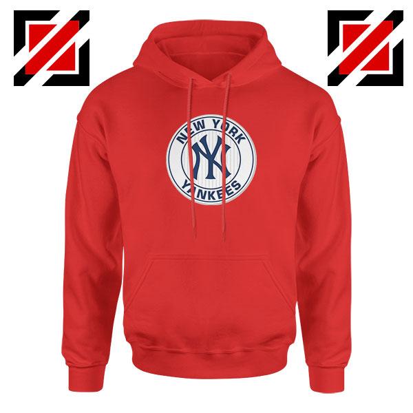 New York Yankees White Round Red Hoodie
