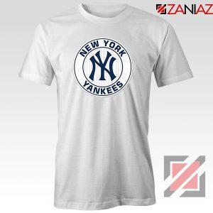 New York Yankees White Round Tshirt