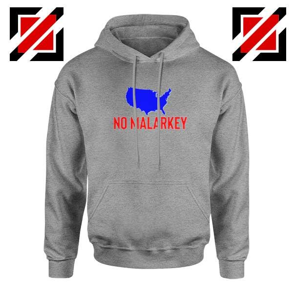 No Malarkey Joe Biden Sport Grey Hoodie