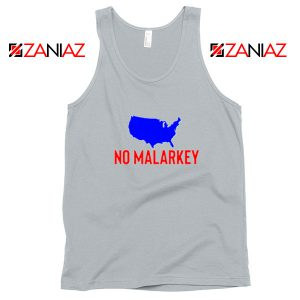 No Malarkey Joe Biden Sport Grey Tank Top