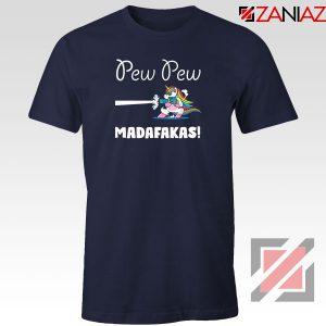 PewPewPew Unicorn Madafakas Navy Blue Tshirt