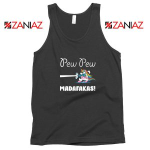 PewPewPew Unicorn Madafakas Tank Top