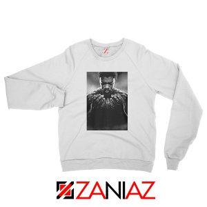 RIP Black Panther White Sweatshirt