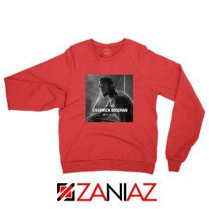RIP Chadwick Black Panther Red Sweatshirt