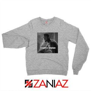 RIP Chadwick Black Panther Sport Grey Sweatshirt