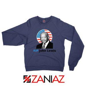 RIP John Lewis Navy Blue Sweatshirt