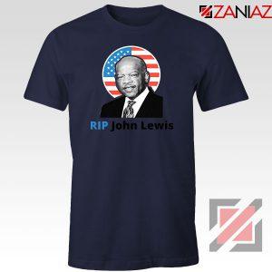 RIP John Lewis Navy Blue Tshirt