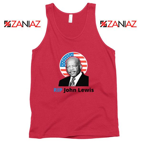 RIP John Lewis Red Tank Top