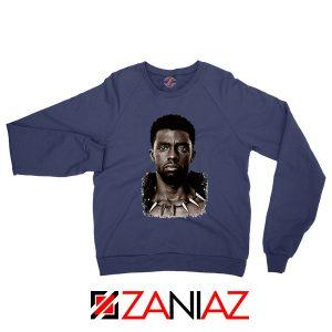 RIP Men of Wakanda Navy Blue Sweatshirt