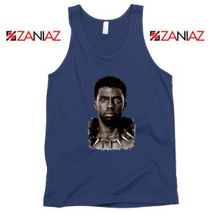 RIP Men of Wakanda Navy Blue Tank Top