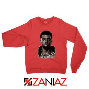 RIP Men of Wakanda Red Sweatshirt