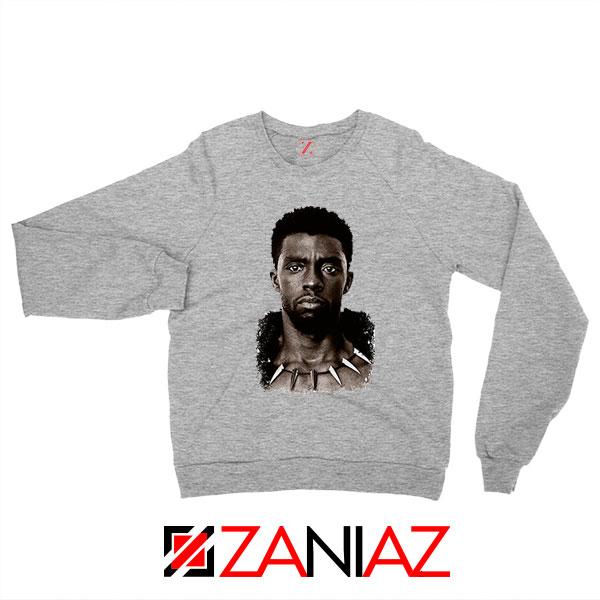 RIP Men of Wakanda Sport Grey Sweatshirt