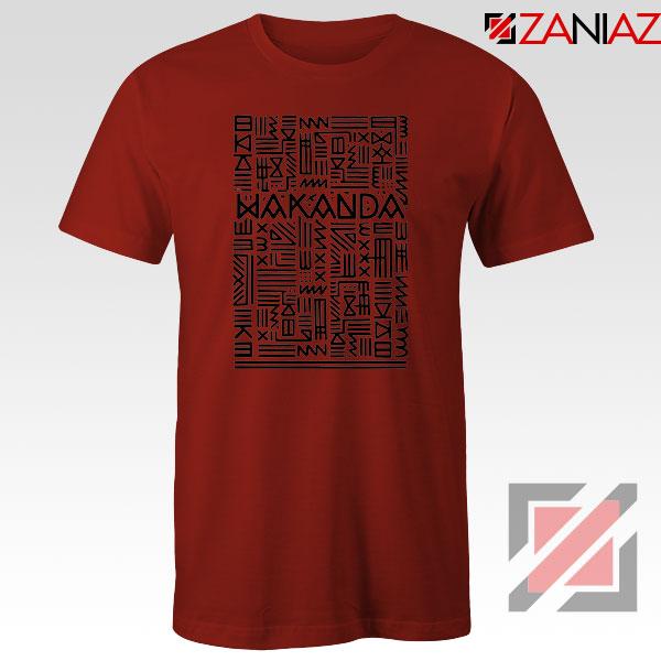 RIP Wakanda Red Tshirt