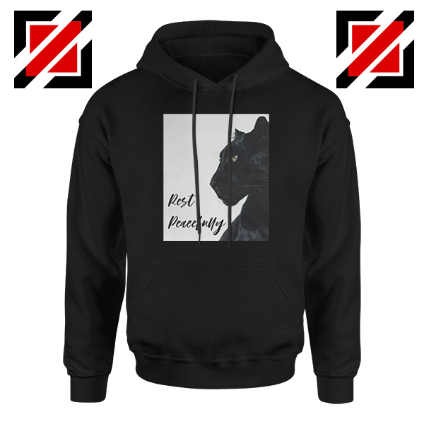 Rest Peacefully Black Panther Hoodie