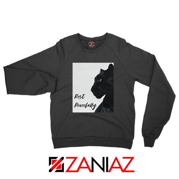 Rest Peacefully Black Panther Sweatshirt