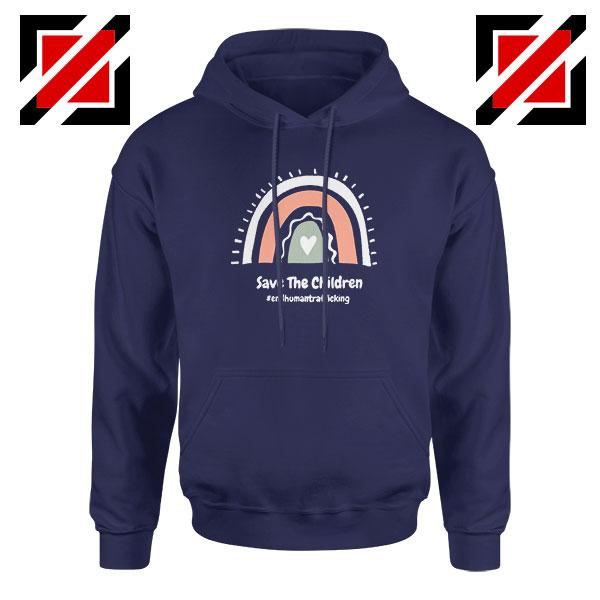 Save The Children Navy Blue Hoodie