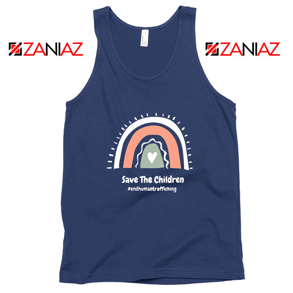 Save The Children Navy Blue Tank Top