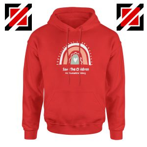 Save The Children Red Hoodie