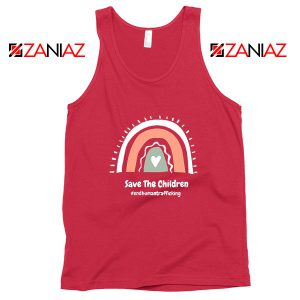 Save The Children Red Tank Top