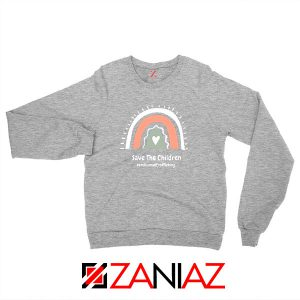 Save The Children Sport Grey Sweatshirt