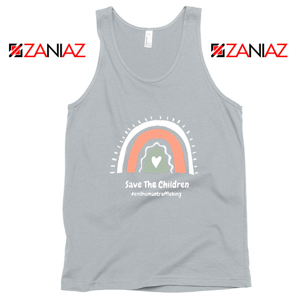 Save The Children Sport Grey Tank Top