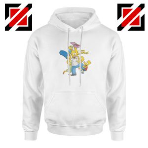 Simpson Family Loves Donuts Hoodie