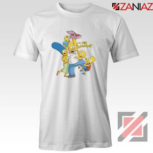 Simpson Family Loves Donuts Tshirt