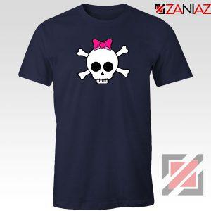 Skull Crossbones Navy Blue Tshirt