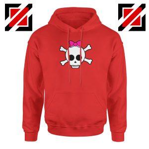 Skull Crossbones Red Hoodie