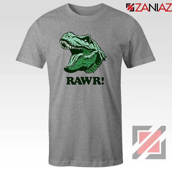 T Rex RAWR Sport Grey Tshirt