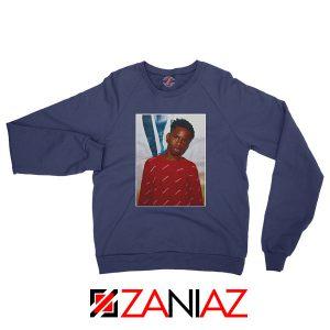 Tay K Custom Navy Blue Sweatshirt