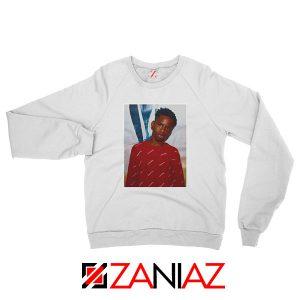 Tay K Custom White Sweatshirt