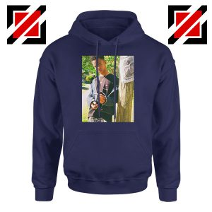 Tay K Ready To Spark Up Navy Blue Hoodie