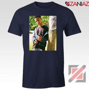 Tay K Ready To Spark Up Navy Blue Tshirt