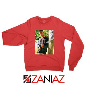 Tay K Ready To Spark Up Red Sweatshirt