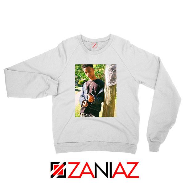 Tay K Ready To Spark Up White Sweatshirt