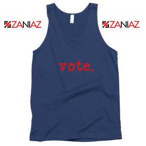 Vote 2020 Election Navy Blue Tank Top