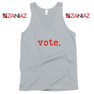 Vote 2020 Election Sport Grey Tank Top