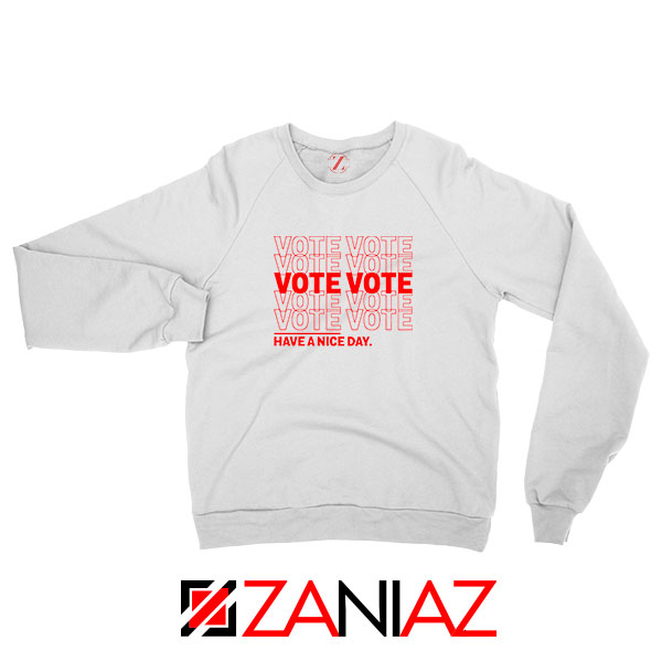 Vote Graphic Sweatshirt