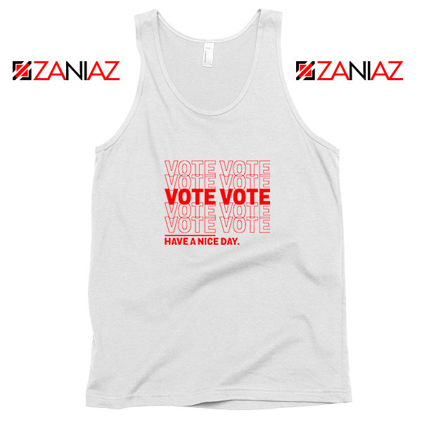 Vote Graphic Tank Top