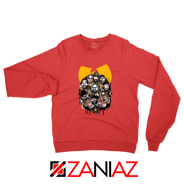 Wu Tang Clan NY Yankees Red Sweatshirt