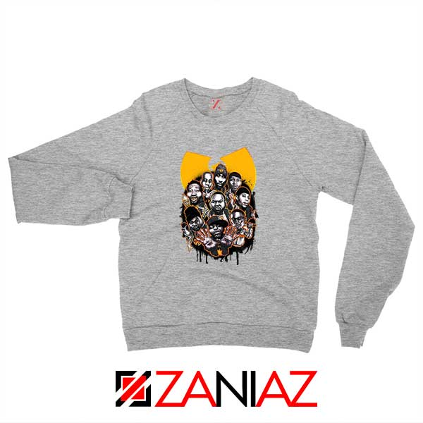 Wu Tang Clan NY Yankees Sport Grey Sweatshirt